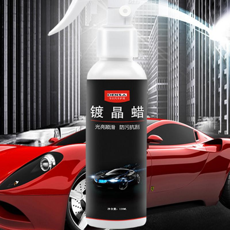 Crystal Plating Wax 120ml Anti scratch Car Paint Crystal Plating Wax Super Hydrophobic Glass Spray Coating Drop Shipping 1114 in Wet Wax from Automobiles Motorcycles