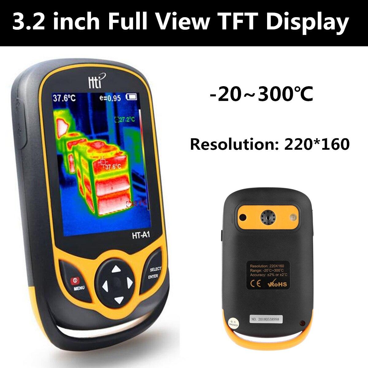 Appareil-photo infrarouge portatif de détecteur d'imageur thermique infrarouge d'appareil-photo d'imagerie thermique infrarouge numérique thermomètre de température d'imageur