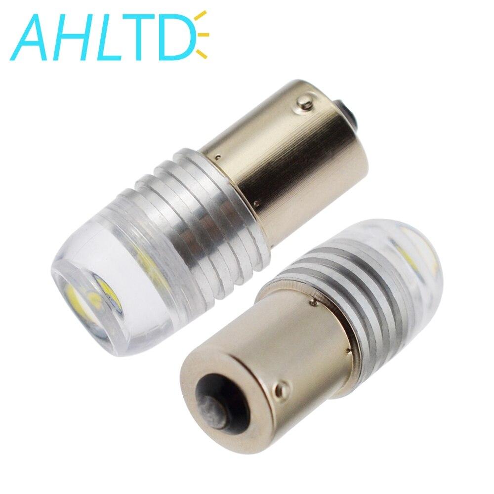 1156 BA15S P21W 1157 BAY15D blanco rojo lámpara estroboscópica 5730 3LED bombillas LED Super brillante 12V 12V de freno de coche señal cola luz intermitente