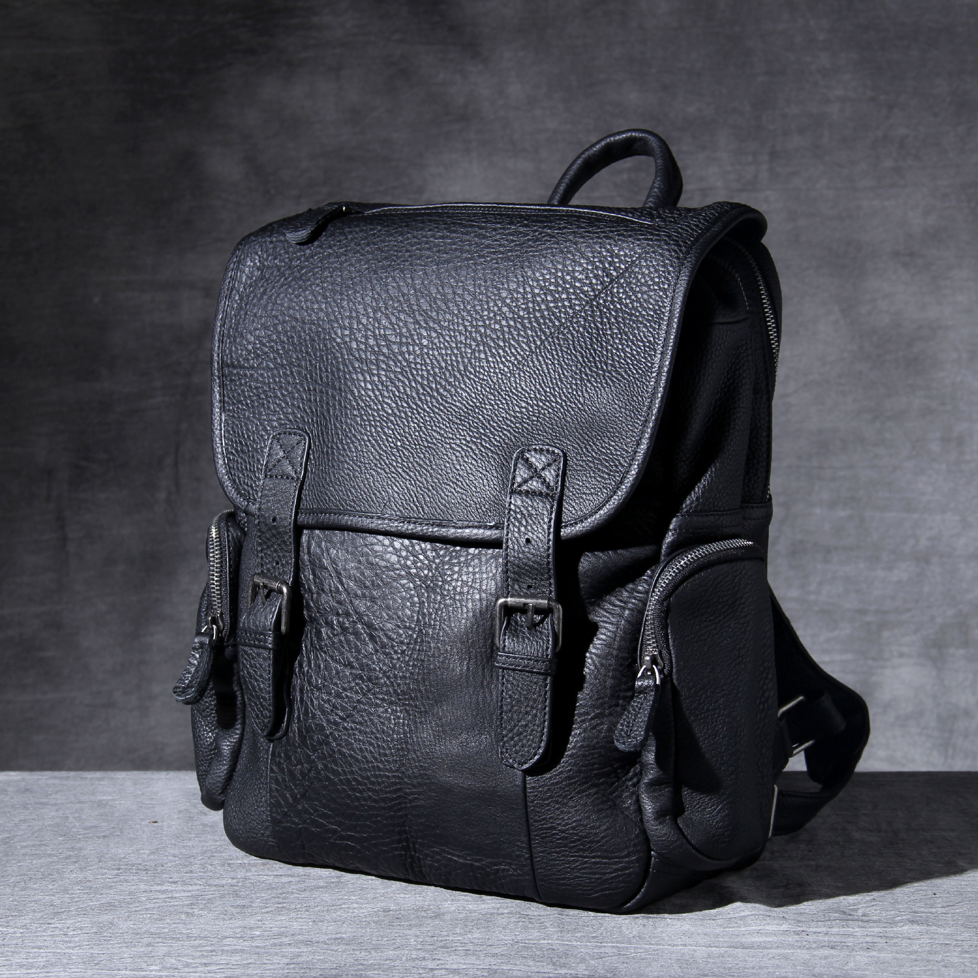 fashion Men Genuine Cowhide Leather  Business Carry Messenger handBag bag