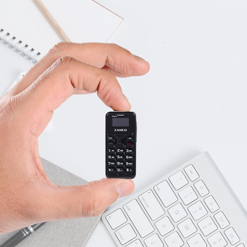 ZANCO minuscule T1 monde plus petit téléphone portable débloqué Mini téléphone Mobile de base pour les personnes âgées et les enfants