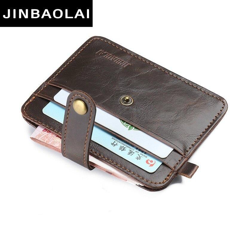Super PU Leather Slim Wallet Card Case Fashion Card Holder Men Women Credit Passport Card Bag ID Passport Card Wallet Thin Small