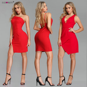 Image 3 - New Year Cocktail Dresses Short Ever Pretty 2020 Red Sleeveless Mermaid Mini 3 Styles Robe Cocktail Sexy Homecoming Dresses