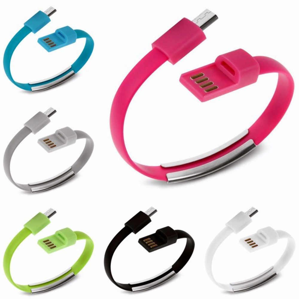 KISSCASE سوار المصغّر USB نوع C كابل يو إس بي بيانات كابل شحن ل فون XS ماكس XS X 8 الروبوت USB الهاتف شاحن هواتف xiaomi