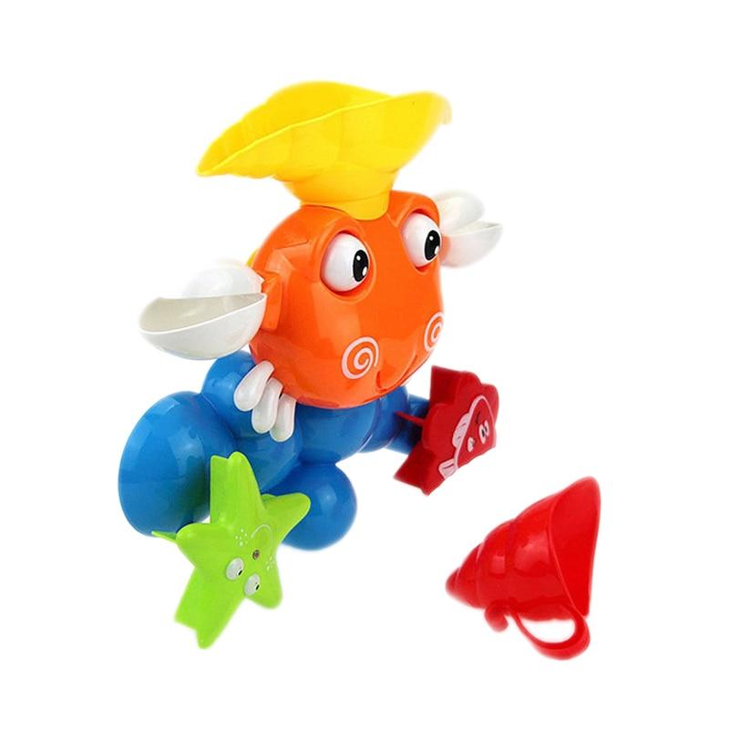 2929c3973bbb Cheap Juguetes de baño para bebés, juegos de agua, grifo de ducha de  cangrejo