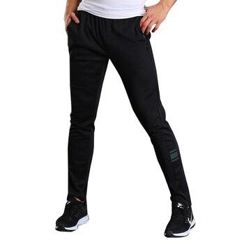 Entrenamiento de fútbol pantalones MenBasketball pantalones Jogging Fitness Running gimnasio deporte de los hombres pantalones de chándal