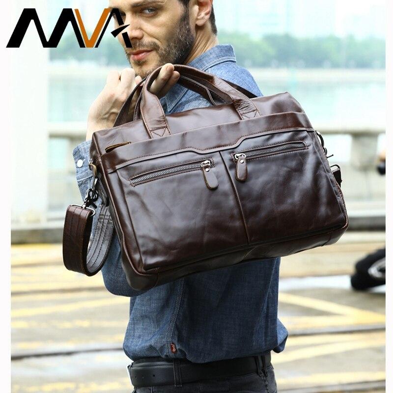 Sac à main serviette d'épaule en cuir affaires hommes sac en cuir sac à bandoulière