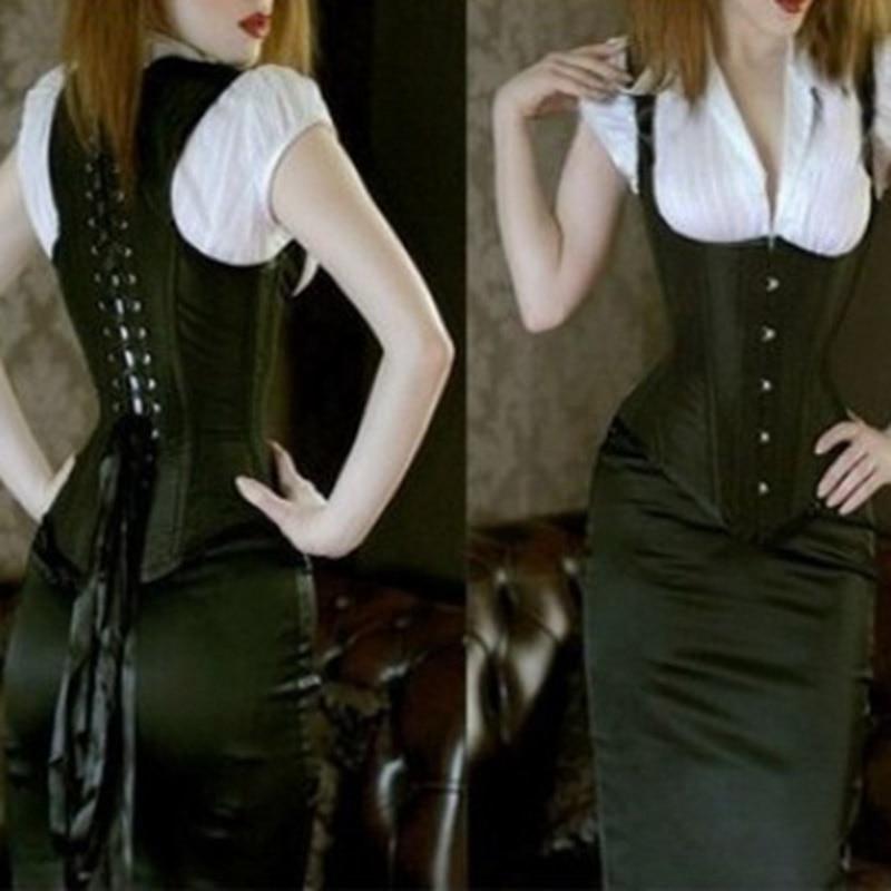 Bunch back girdle for women waist support corset underbust shaper underwear top slimming bustier corsets sexy bride abdomen with