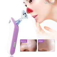 2 In 1 Usb Rechargeable Blackhead Pore Vacuum Suction Remover Portable Facial Moisturizing Water Jet Facial Skin Cleaner Machine