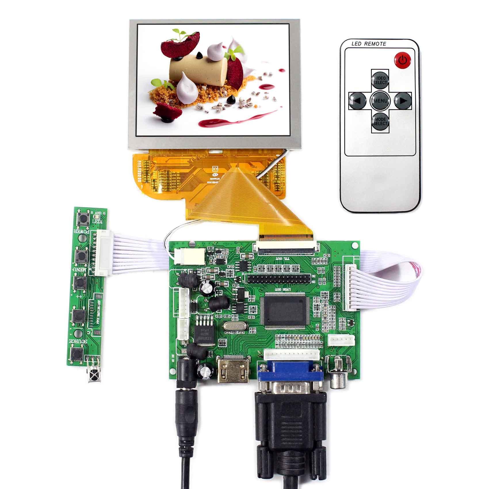 HDMI VGA 2AV LCD Driver Board With 3.5 50pin FPC Connector 800x600 LCD Screen Replace PD035VX2HDMI VGA 2AV LCD Driver Board With 3.5 50pin FPC Connector 800x600 LCD Screen Replace PD035VX2
