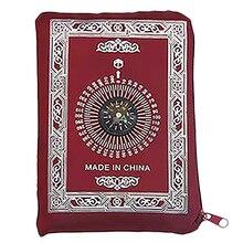 Ramadan Islamic And Muslim Travel Prayer Mats,Compass Pocket Size Tote Bags