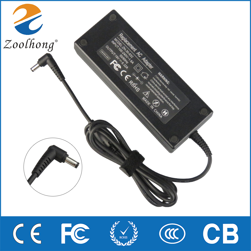 New AC Power Adapter for <font><b>asus</b></font> <font><b>19V</b></font> <font><b>6.32A</b></font> 120W 5.5*2.5MM for <font><b>Asus</b></font> ADP-120ZB BB PA3290E-3AC3 <font><b>Charger</b></font> image
