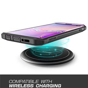 Image 4 - Samsung Galaxy S10 durumda 6.1 inç SUPCASE UB Pro tam vücut sağlam kılıf Kickstand olmadan dahili ekran koruyucu