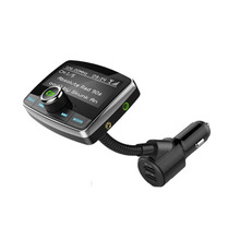 цена на Bluetooth car kit FM Transmitter Wireless Radio Hands-free Adapter USB Charger