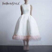 перо, элегантное, модное, платья,