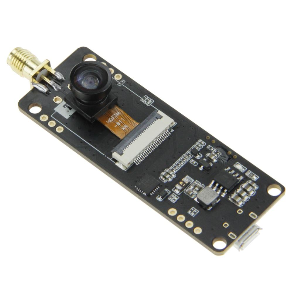 TTGO T-Journal ESP32 Camera Module Development Board OV2640 Camera SMA Wifi  3dbi Antenna 0 91 OLED Camera Board