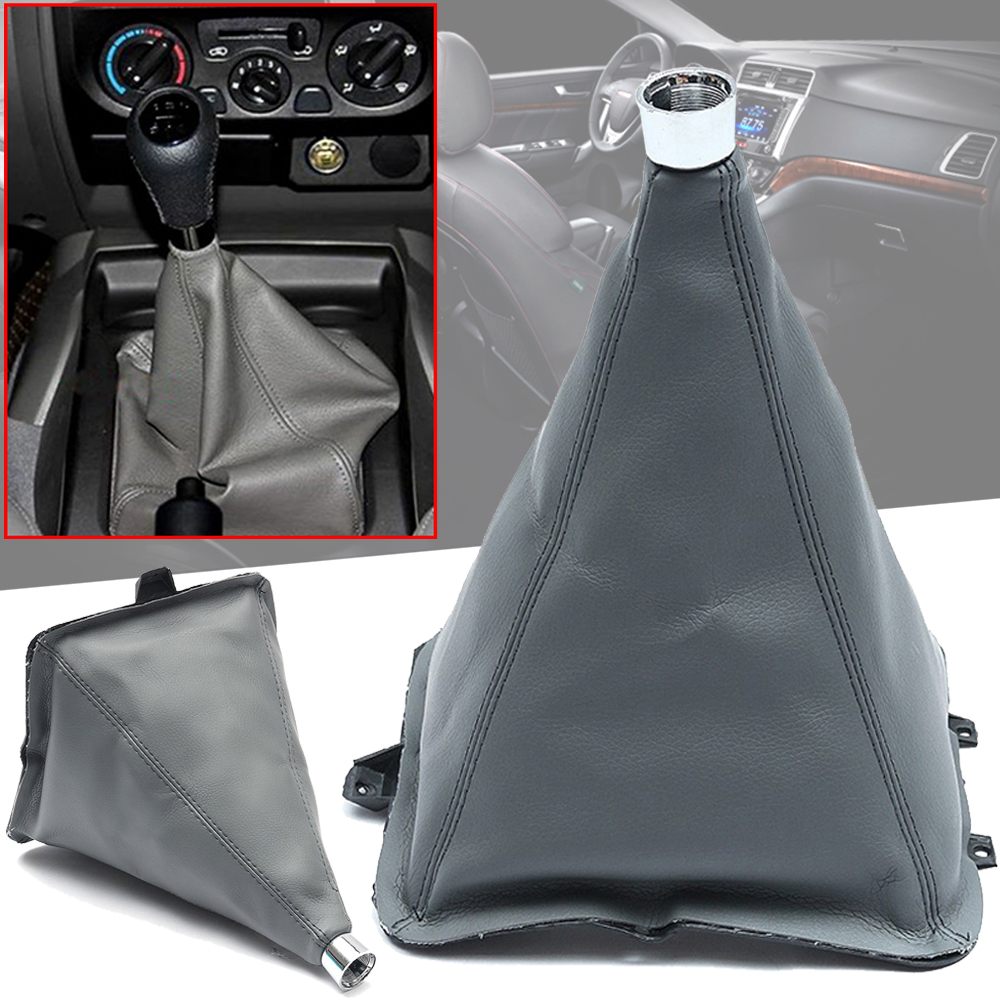 Gear Shifter Lever Dust Boot Cover Rubber Manual Transmission for Nissan Pickup