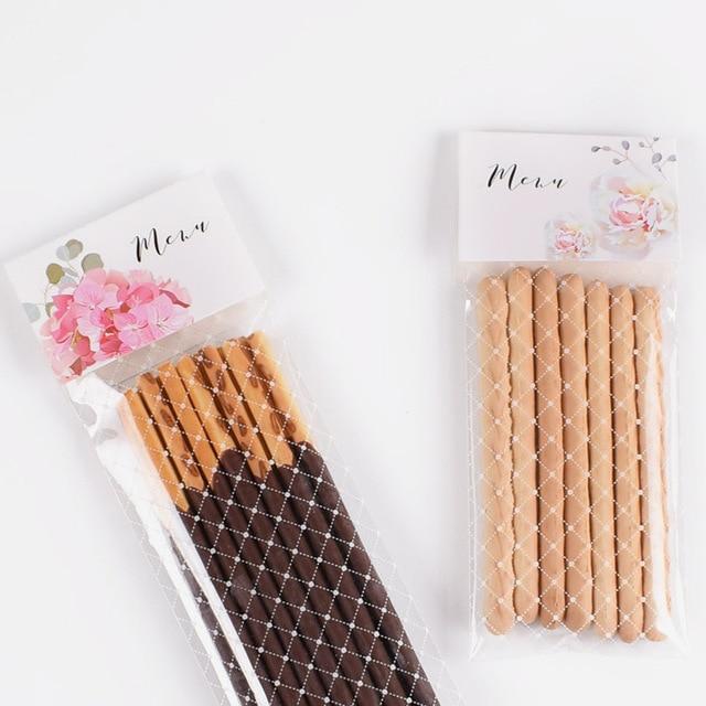 300 Pcs Nhựa Cookies Túi Ren Trong Suốt Giáng Sinh Kẹo Túi Hộp Đám Cưới Bên Ủng Hộ Bé Sinh Nhật Phục Sinh Kẹo Túi Bé