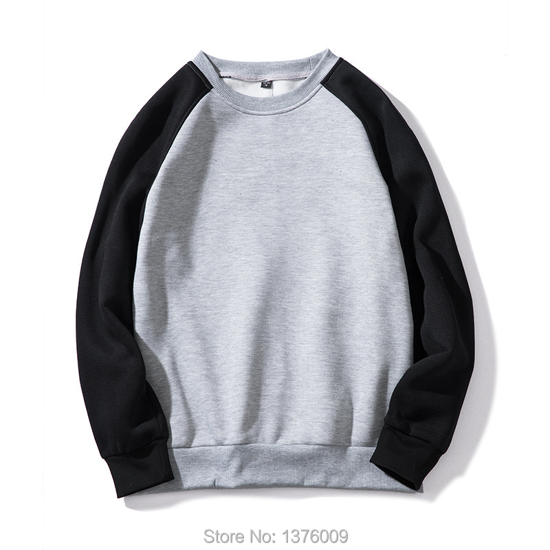 Patchwork Hoodies Very Good Quality Hip Hop Men Hoodie With Fleece Crew Neck Pullover Fashion Swag Casual Sweatshirt Tops Unisex