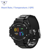 hot deal buy f7 gps smart watch wearable devices activity tracker bluetooth 4.2 color altimeter barometer compass gps outdoors men's watch