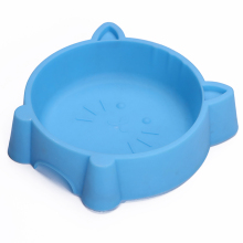Pet Bowl Plastic Cat Face Anti-Skid Creative Portable Multipurpose Dog Household Supplies