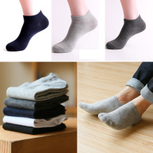 Fashion 1Pair High Quality Boat Socks Cotton Invisible Ankle Men Casual Popular  2019 New Gifts