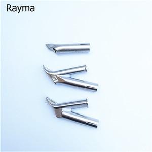Image 4 - 4 個rayma熱風銃張り出し床スピード溶接ノズルラウンド三角 5 ミリメートル溶接チッププラスチックpvcビニール溶接機