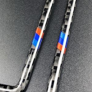Image 4 - ل BMW 3 سلسلة E90 E92 E93 2005 2006 2007 2008 2009 2010 2011 2012 الكربون الألياف سيارة تكييف الهواء تنفيس منفذ جانبي غطاء