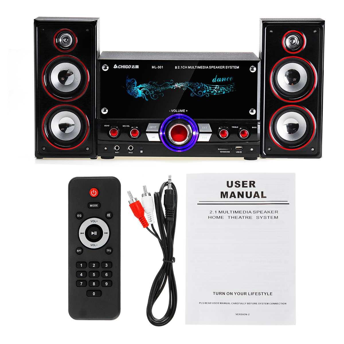 KINCO беспроводной система Hi Fi караоке устройств Bluetooth 3D Surround Sound музыкальный центр системы для расслабления себя колонки Вечерние