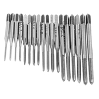 Durable 31Pcs HSS M1 M2.5 Screw Tap & Threading Die & Wrench Woodworking Tools