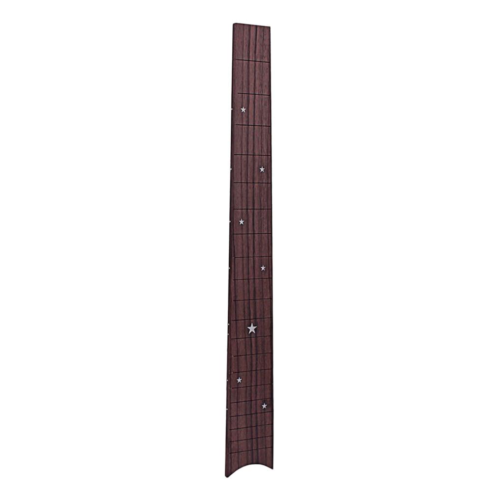 Amiable Gsd117 Rosewood Pentagram Pattern Ukulele 20 Fret Fretboard Fingerboard For Ukulele Soprano Ukulele Hawaii Guitar Accessory Cheap Sales 50% Guitar Parts & Accessories