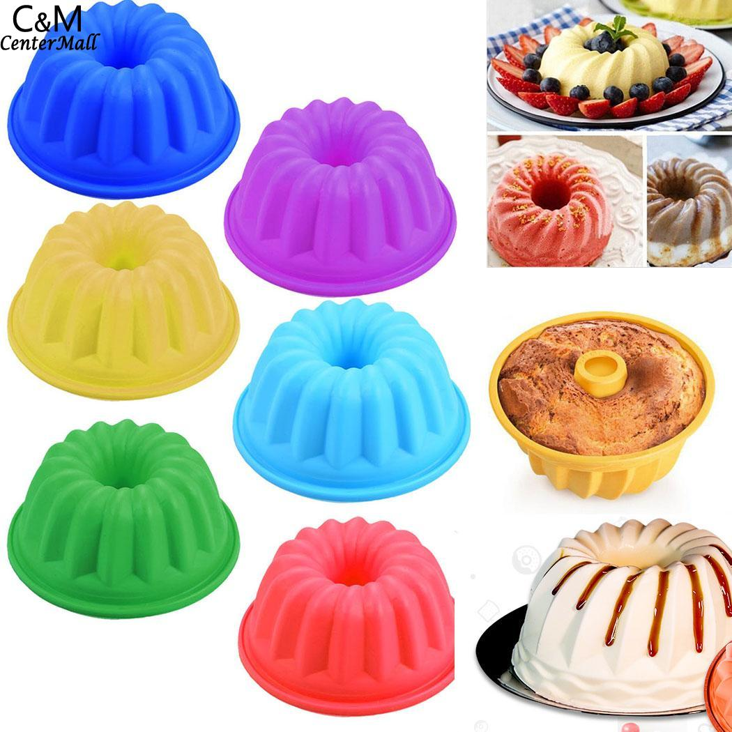 Random Mold Silicone Bakeware for Baking Pastry and Cup Cakes in Microwave Oven including other Confectionery Recipe 3
