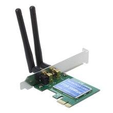 PCI Express PCI-e 300 Мбит/с IEEE 802.11b/g/n беспроводной адаптер Wi-Fi