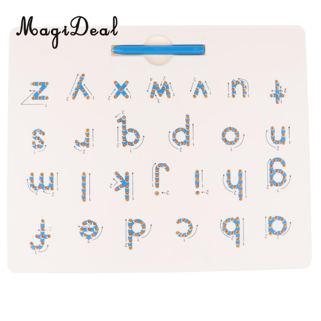 Beautiful Magnetic Drawing Board For Children Baby Toddler Kids Doodle Drawing Pad Tablet Toys Alphabet Number Educational Writing Gift Drawing Toys