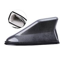 Car Shark Fin Antenna Radio Signal Aerial Auto SUV Truck Van Car-styling Carbon Fiber Universal
