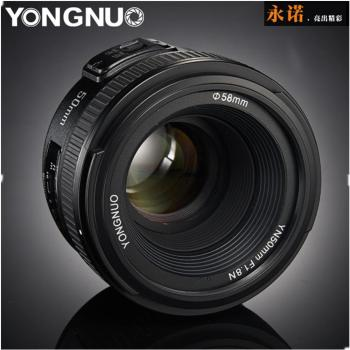 Original YONGNUO Lens YN50 mm YN50mm F1.8  Camera Lens for Canon Canon EF for Nikon Nikon F DLSR Camera Lens