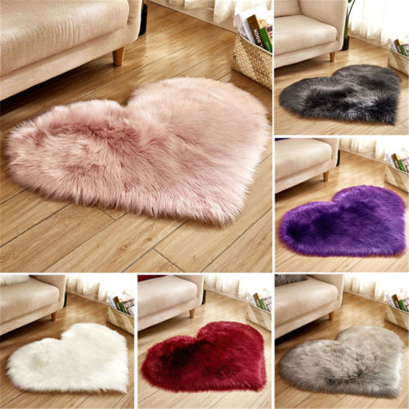 2019 New Fluffy Rugs Anti Skid Shaggy Area Rug Dining Room