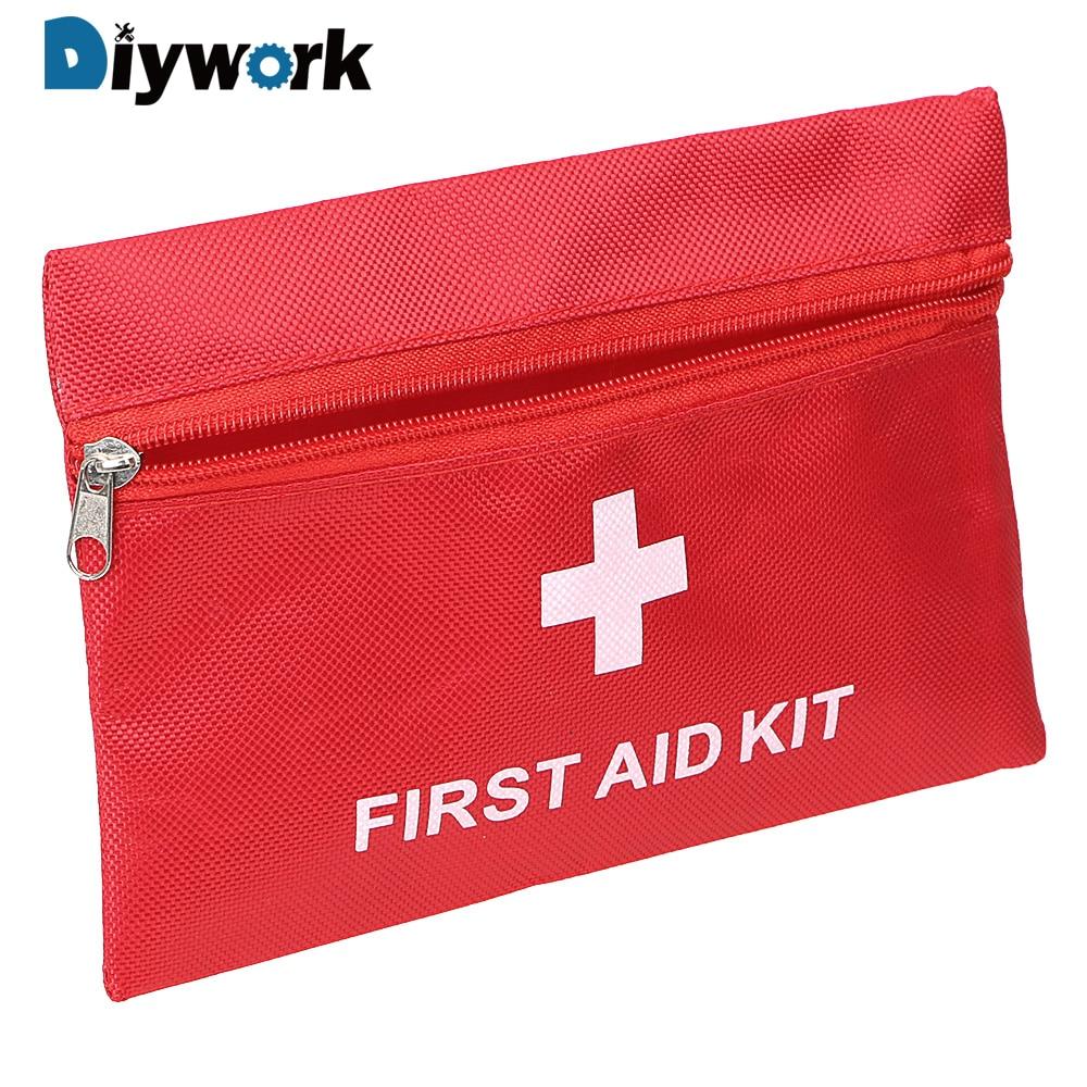 DIYWORK 20*14cm Empty Oxford Cloth Bag Portable Emergency Medical Kit Storage First Aid Kit Bag Tool Bag Tools Packaging