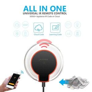 Image 2 - Wifi ir controle remoto hub 2.4g, wi fi infravermelho universal controle remoto para ar condicionado tv dvd usando tuya vida inteligente, vida inteligente