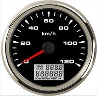 New 85mm GPS Speedometer 120kmh Speed Gauge Odometer for ATV UTV Motorcycle Marine Boat Buggy Golf Go Cart 12V/24V