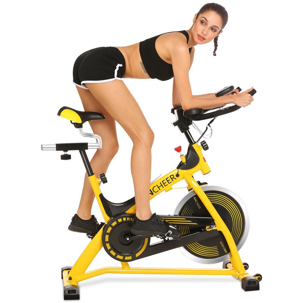 ANCHEER aeróbico Cardio casa gimnasio interior girando ciclismo formación bicicleta de ejercicio