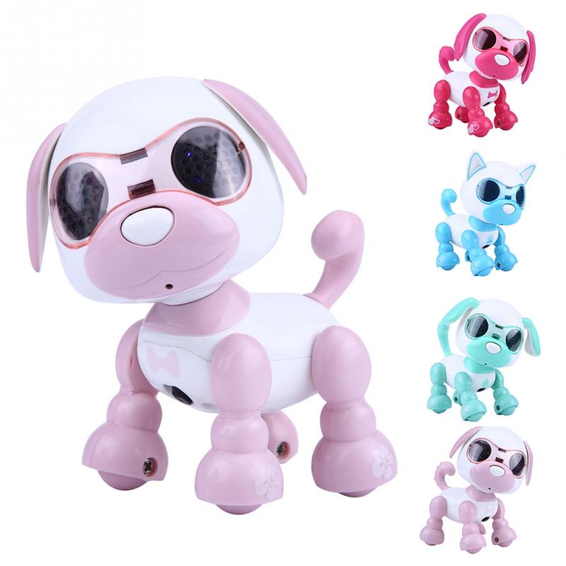 Toy Robotic Puppy-Record Interactive Walking Smart Pet-Toy Gifts Educational Kids Child