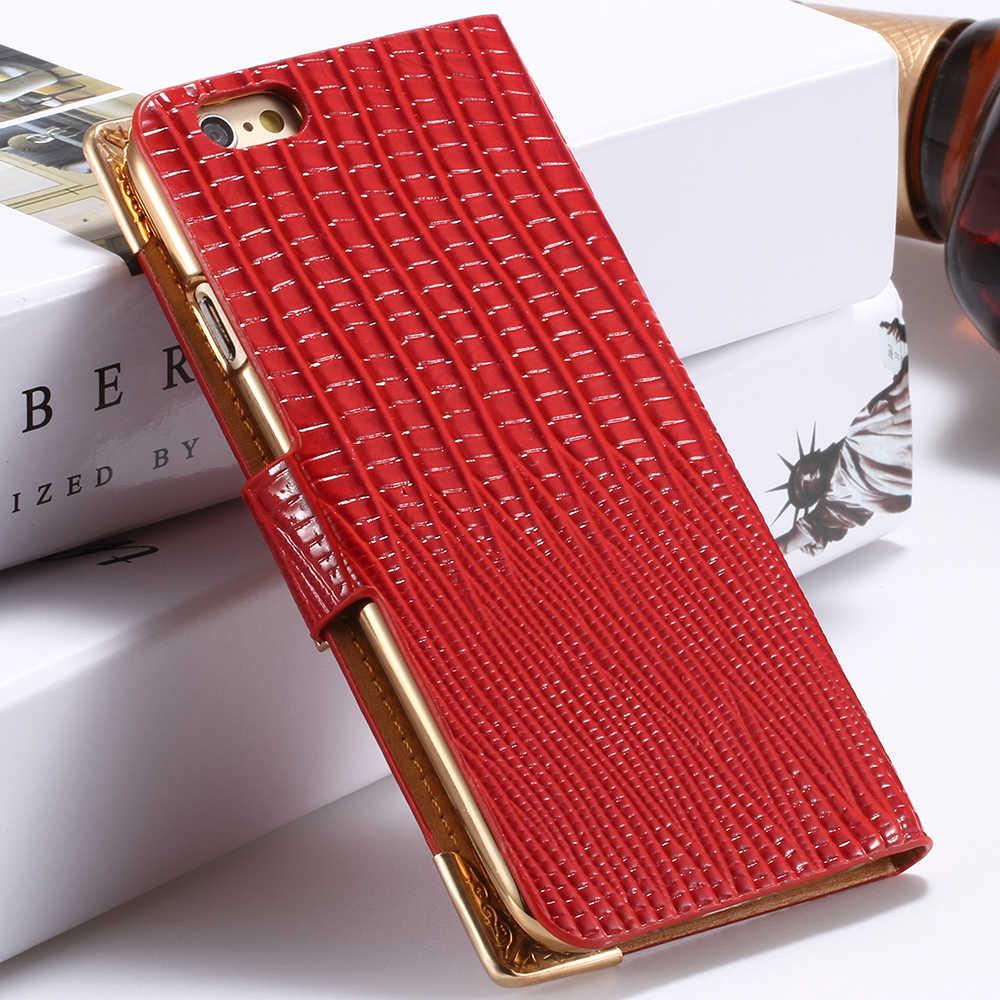 KISSCASE 少女フリップ電話ケース iphone 5 6 6 S 7 8 プラス X XS 5 S 5C SE 4 4S ケース高級革財布ケース