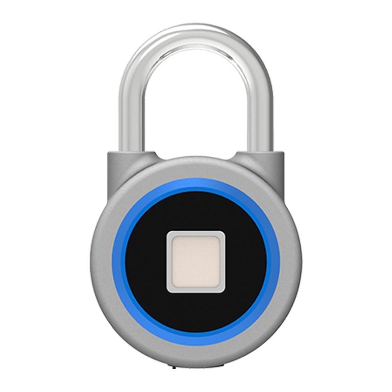 ELEG-cadenas à empreinte digitale, connexion Bluetooth étanche, adapté pour porte de maison, valise, sac à dos, Gym, vélo, bureau, APP
