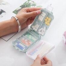 Portable Mini Pill Container Plastic Medicine Holder Cute pillendoosje For Patient Candy Vitamin Storage