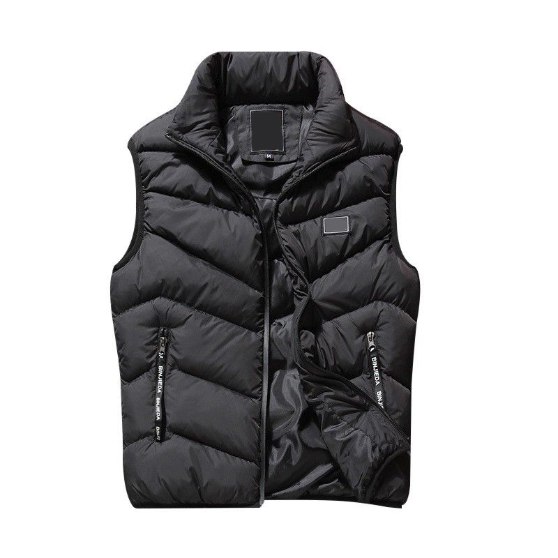 Men Vest Autumn Spring Male Waistcoat Man Slim Fit Sleeveless Jacket Male Casual Plus Size Padded Warm Vest Oversized Outwear