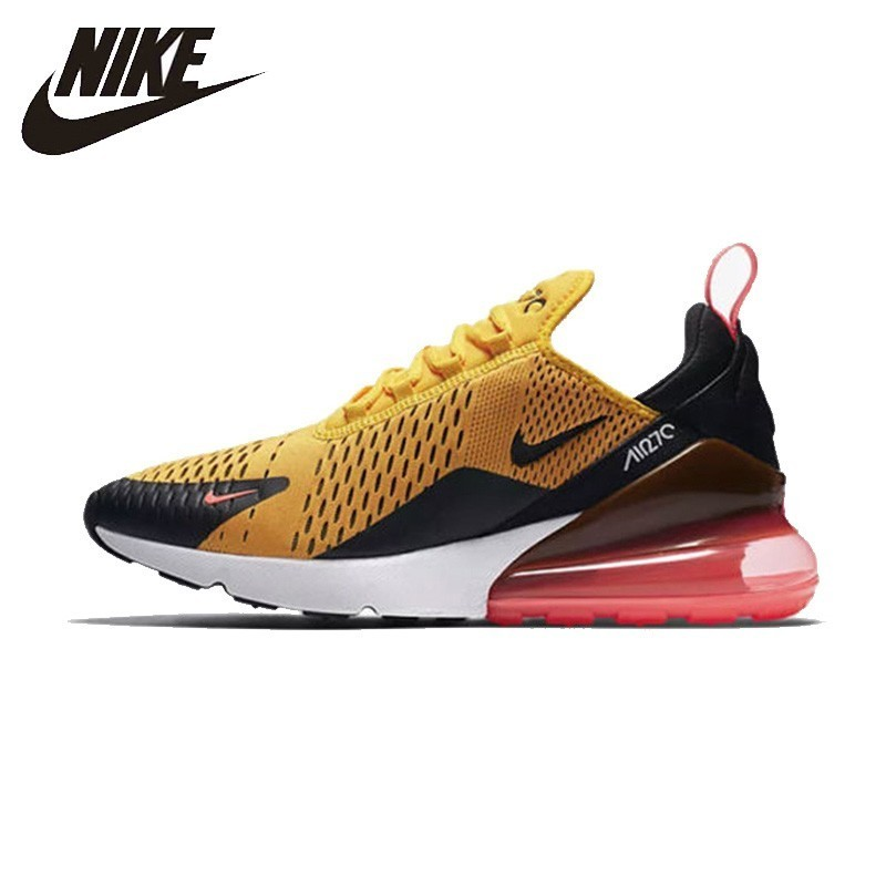 Nike Official Air Max 270 Men Cushion Running Shoes Original Breathable Outdoor Sneakers  New Arrival # AH8050
