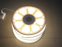 50 m/roll AC110V 230 V высокой Напряжение SMD 2835 Светодиодная лента Мощность plug 60led/м, 120 светодиодов ac 220 v светодиодные полосы для Светящаяся вывеска