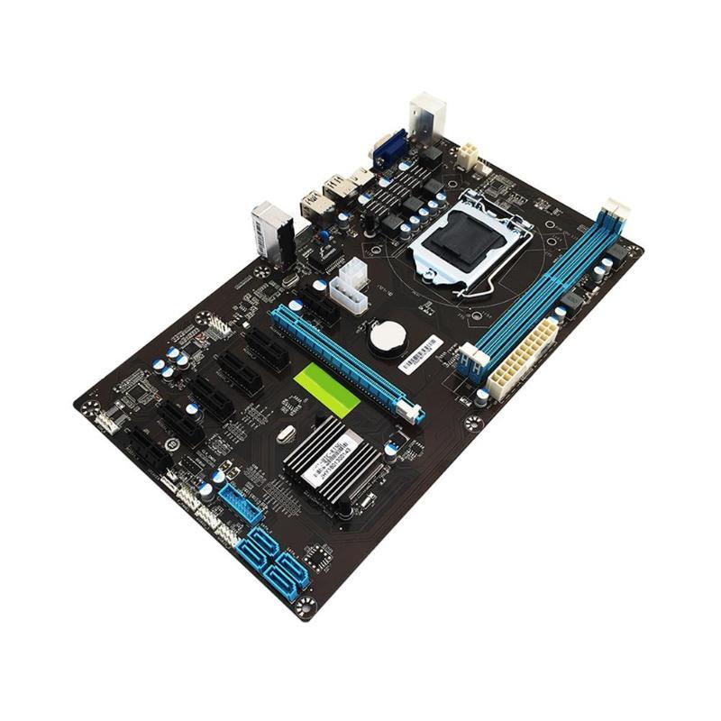 H81 Gaming PCI-E X16 SATA3.0 pour Intel B85 B85-BT Vidéo Carte Carte Mère LGA 1150 PCI-E 7 2XDDR3 H81 6 Port carte mère