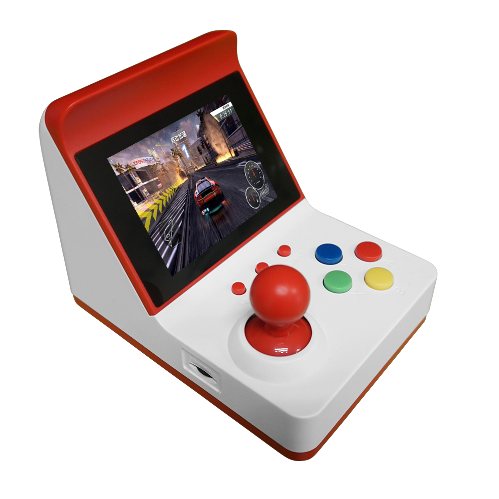 Retro Miniature Arcade Game Console Portable Handheld Game Machine 3 Screen Dual Wired Joystick 360 Classic Games Gift for Kids